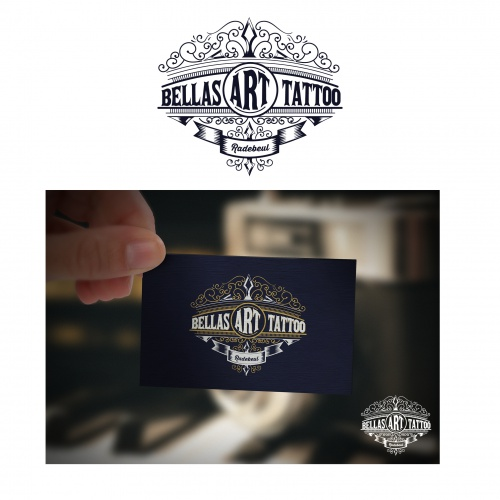 Logo-Design für Tattoostudio