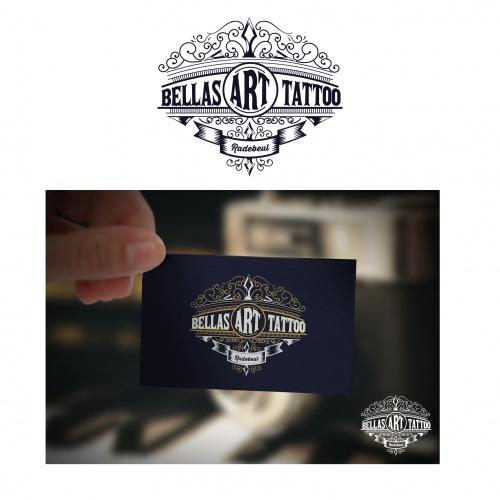 Logo-Design für Tattoostudio