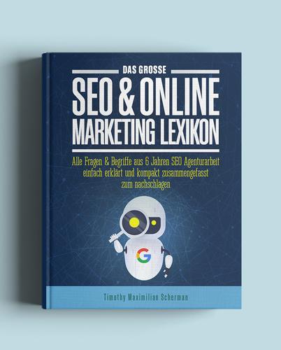 Buch-/E-Book-Cover für SEO Experte