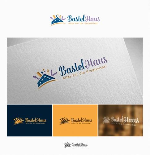 Logo & Visitenkarte für Bastelhaus
