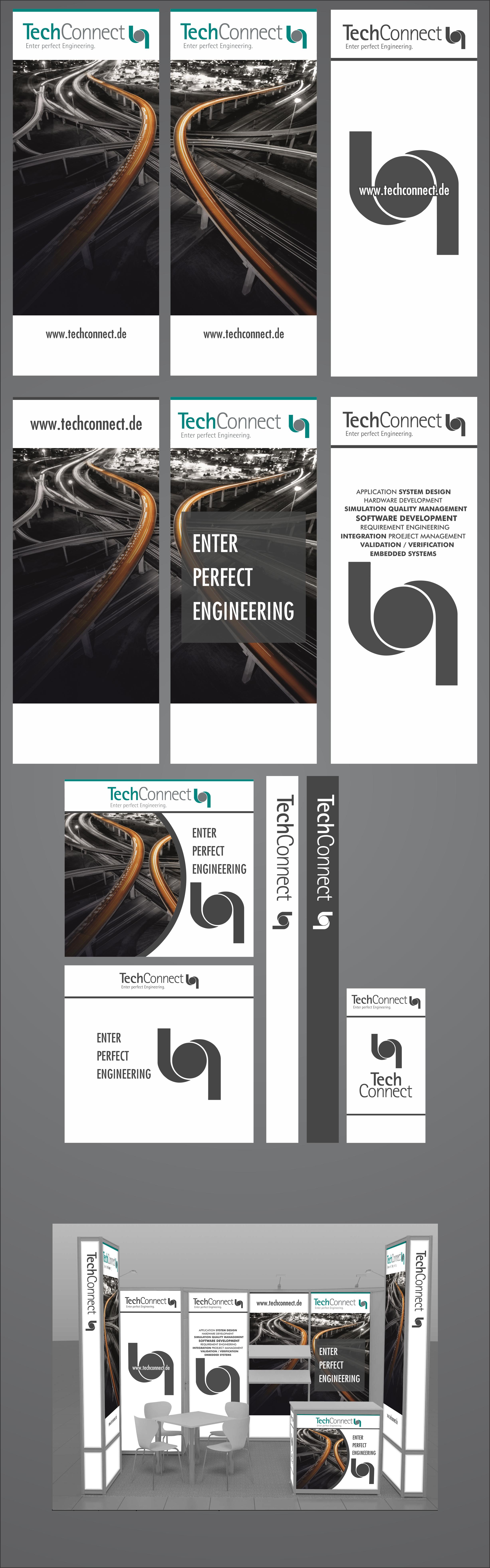 Plakat-Design für Softwareentwicklung im Automot ...