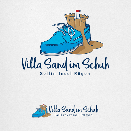Logo-Design für kleine Pension auf der Insel Rügen