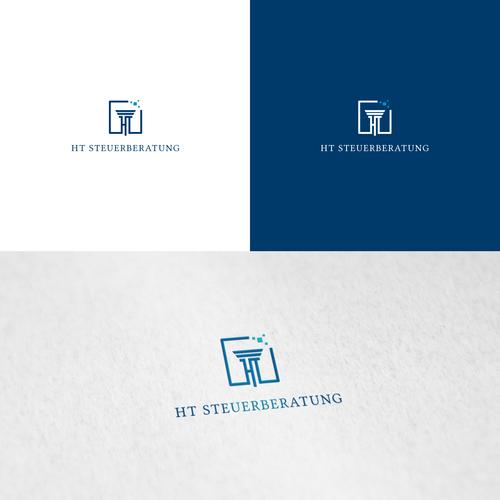 Logo-Design für digitale Steuerberatungskanzlei