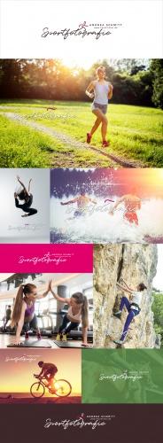 Logo-Design für Sportfotografie
