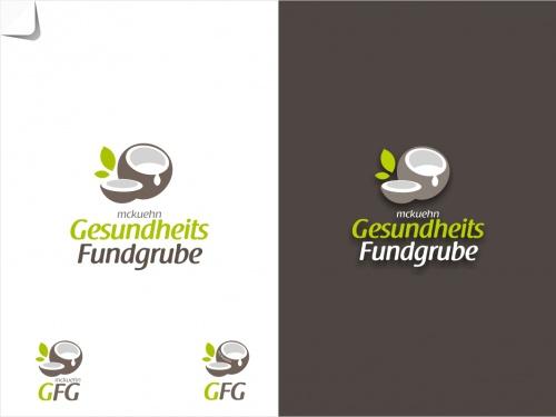 Logo voor de gezondheid pagina met een nadruk dieet