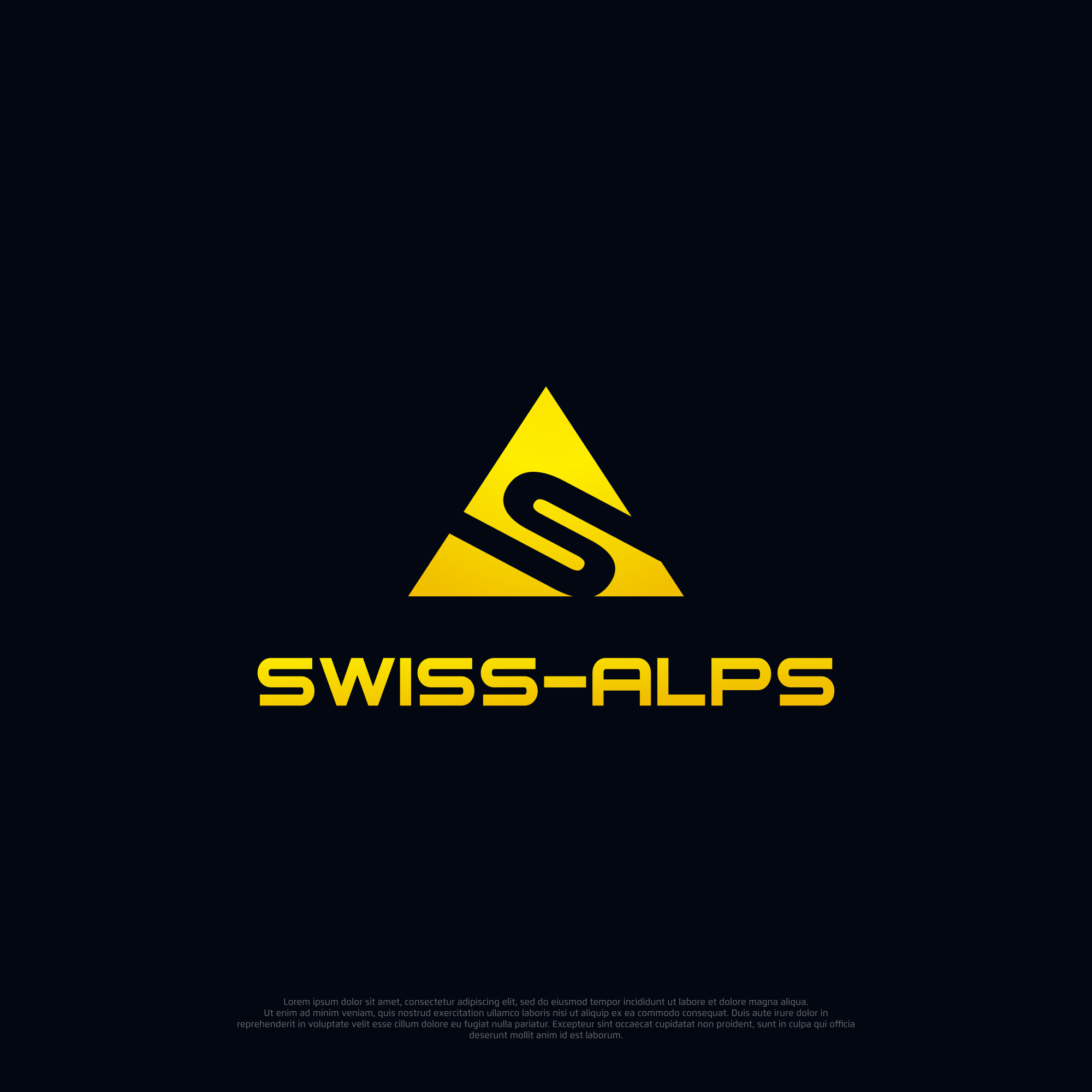 Logo-Design for products from Switzerland