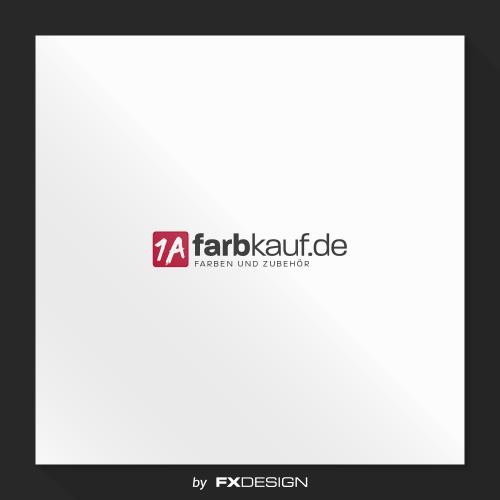 Logo-Design für Onlineshop für Farben und Zubehör