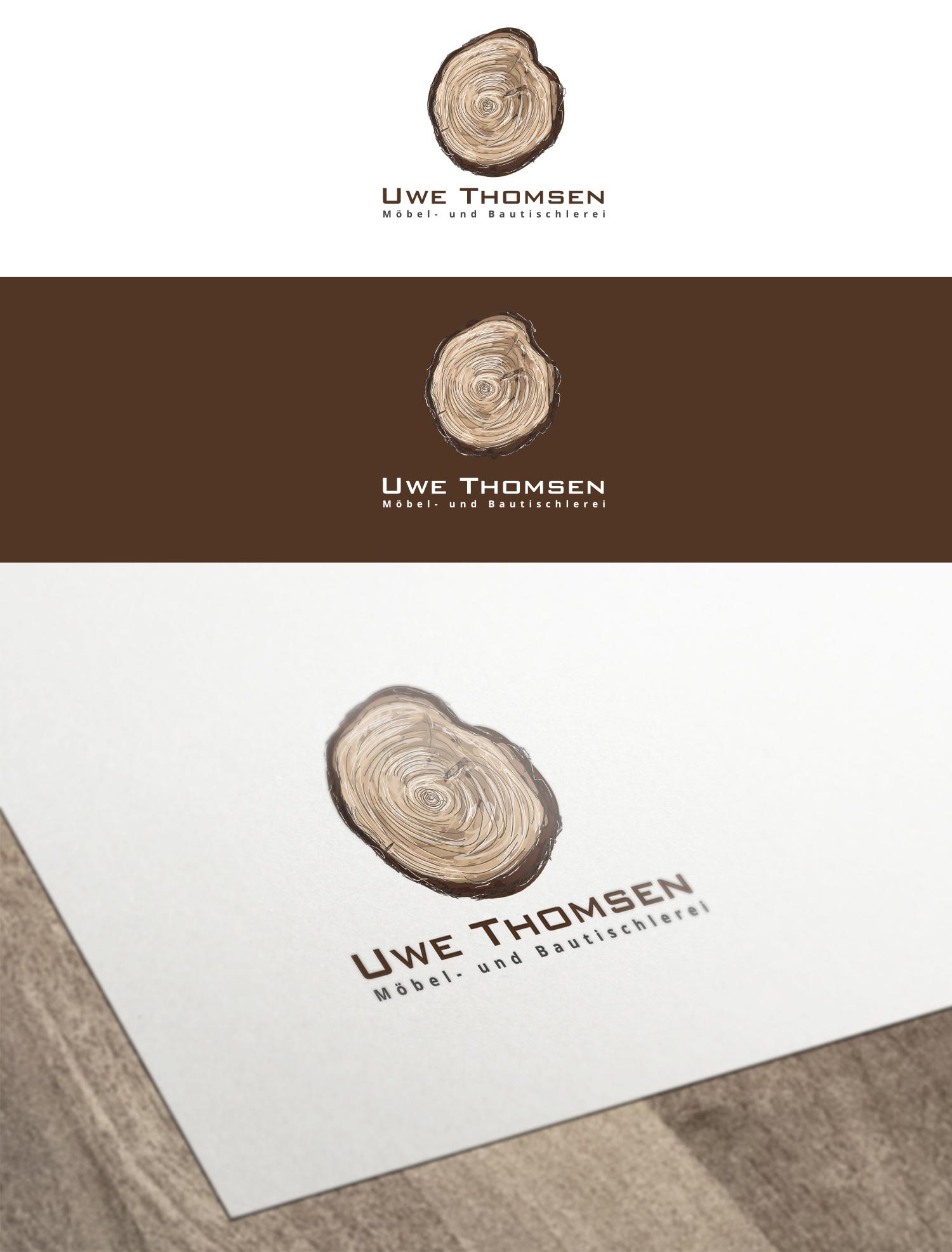 Tischlerei Uwe Thomsen Logo design designonclick