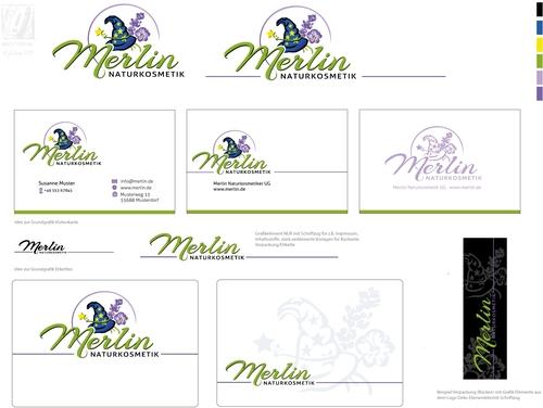 Logo & Visitenkarte für Produzent von Naturkosmetika, Seife und Badeprodukte