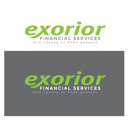 Corporate Design für exorior financial services (efs)