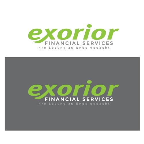 Corporate Design für exorior financial services (efs)