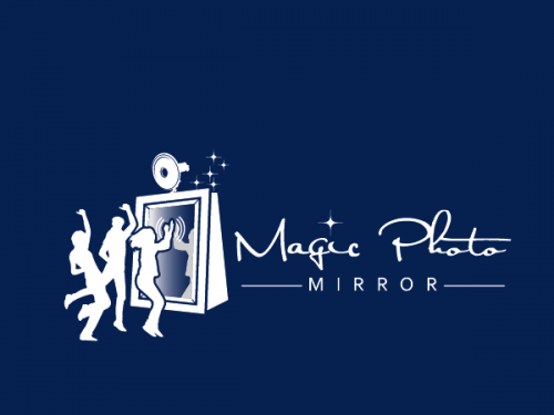 Logo-Design für Magic Photo Mirror - Weiterentwicklung eines Photo-Booth