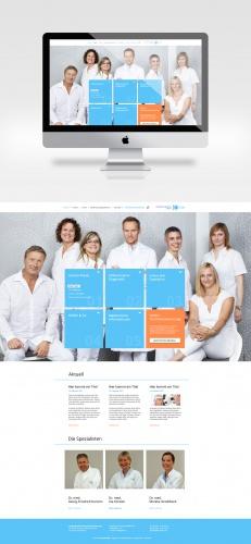 Webdesign für Augenarztpraxis