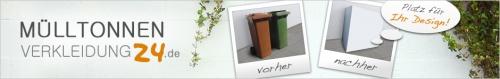 Header für Webseite Mülltonnenverkleidung24.de