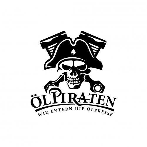 Logo-Design für die Ölpiraten