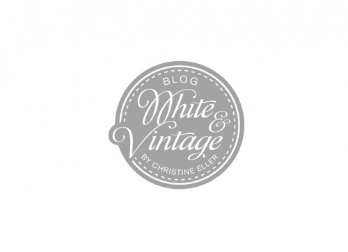 Logo-Design für Blog White & Vintage