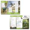 Nieuw design voor DIN vouw-flyers van een klimpark