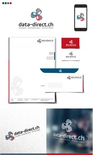 Logo-Design für data-direct.ch