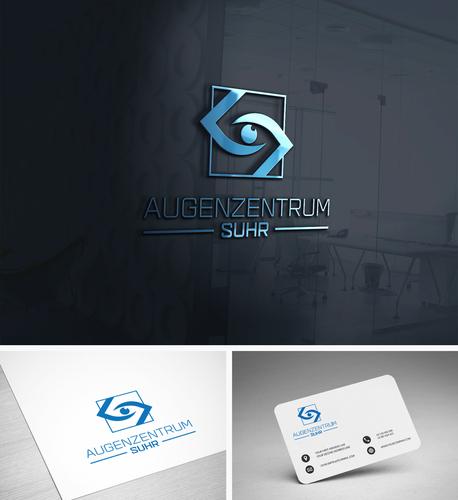 Logo-Design für Augenarztpraxis