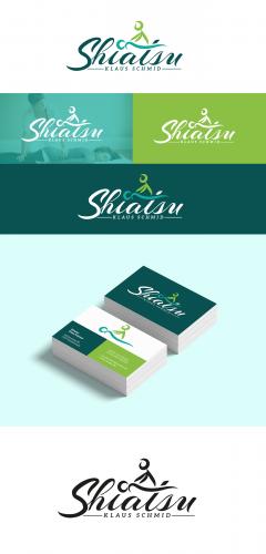 Logo & Visitenkarte für meine Tätigkeit als Shiatsu Praktiker