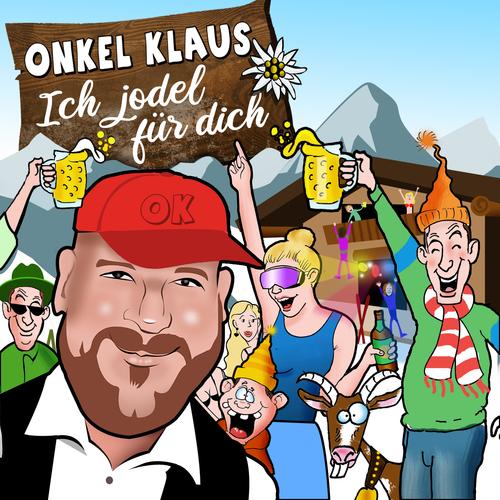 Lustiges CD-/Plattencover für Partyschlager