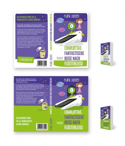 Buchcover-Design für Buch über schwarzen Humor