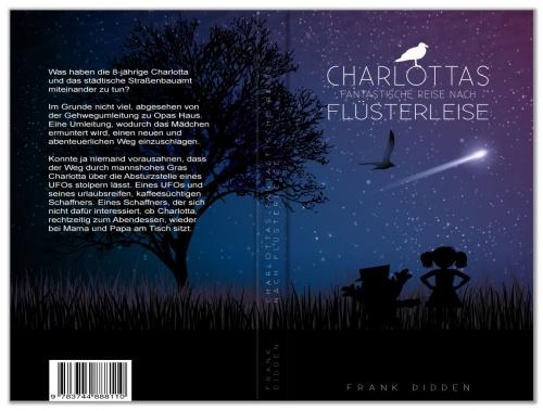 Buch-/E-Book-Cover für Charlottas fantastische Reise nach Flüsterleise