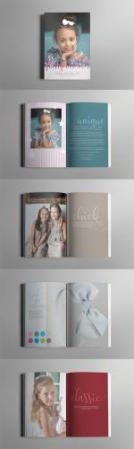 Broschüre für Mode und Accessoire Label
