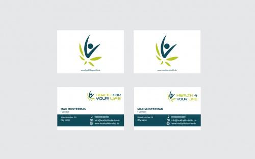 Logo & Visitenkarte für Gesundheit