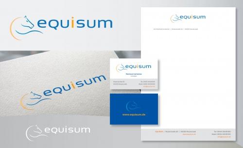 Logo-Design für online shop der Firma EQUISUM