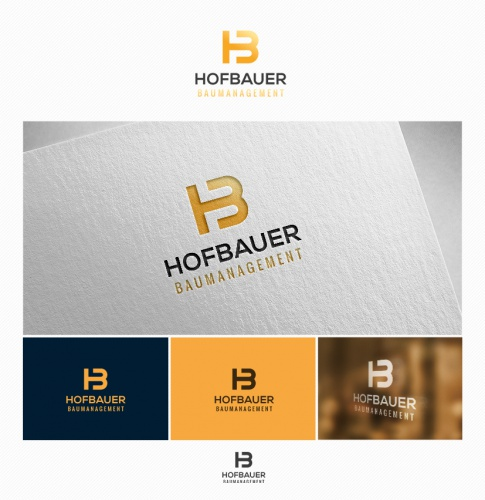Logo-Design für Baumanagement