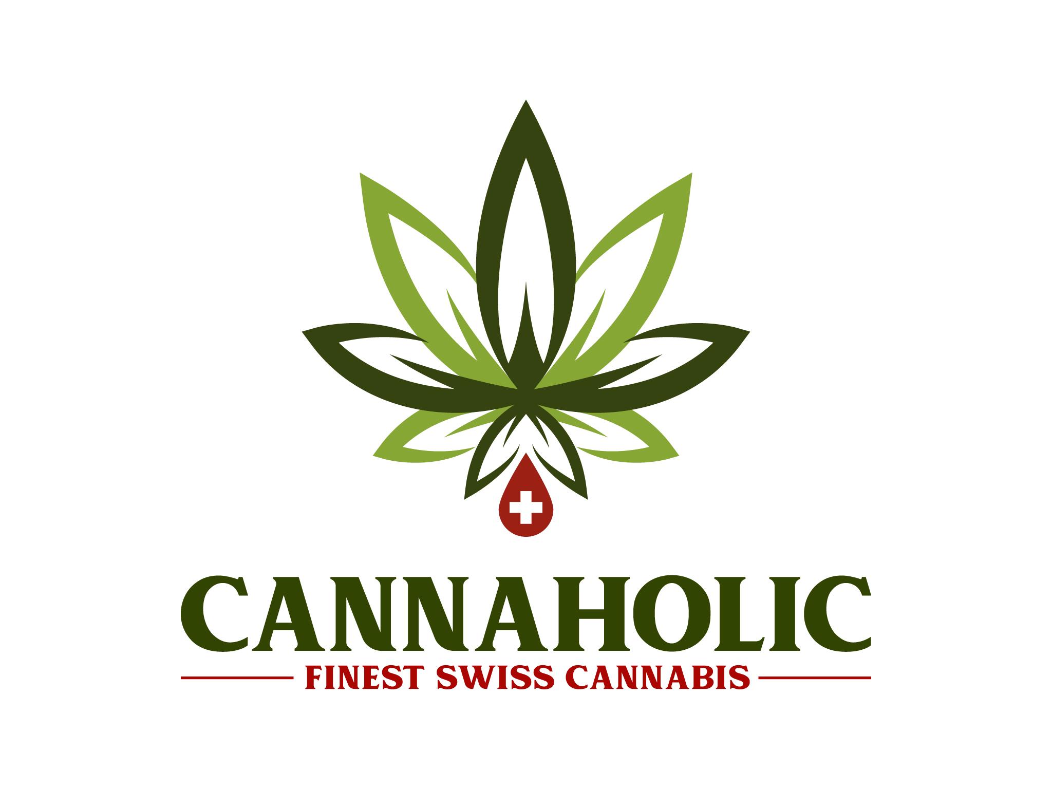 Logo-Design für Produktion von CBD