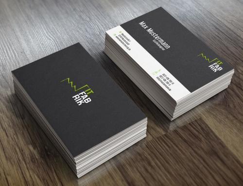 Visitenkarten Firma