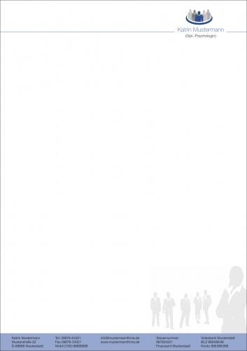 Briefpapier/Visitenkarte Selbsständige