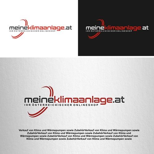 Logo-Design für Verkauf von Klima und Wärmepumpen sowie Zubehör