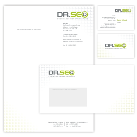 Logodesign briefpapier visitenkarte f r seo logo for Design firma