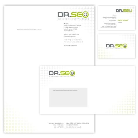Logodesign + Briefpapier / Visitenkarte für SEO Firma