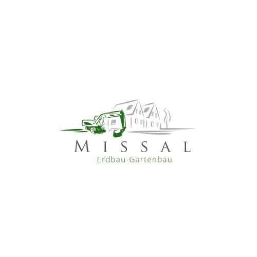 Logo-Design für Missal Erdbau-Gartenbau