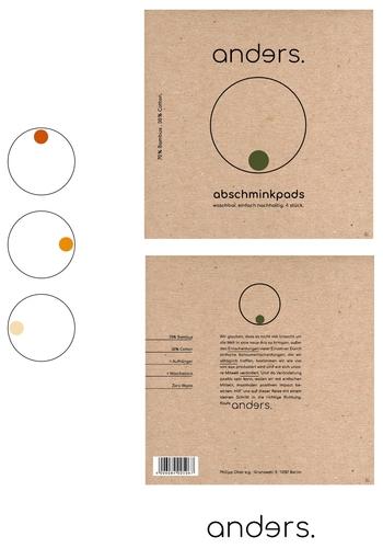 Schlichtes, minimalistisches Verpackungsdesign für nachhaltige, Zero Waste Produkte