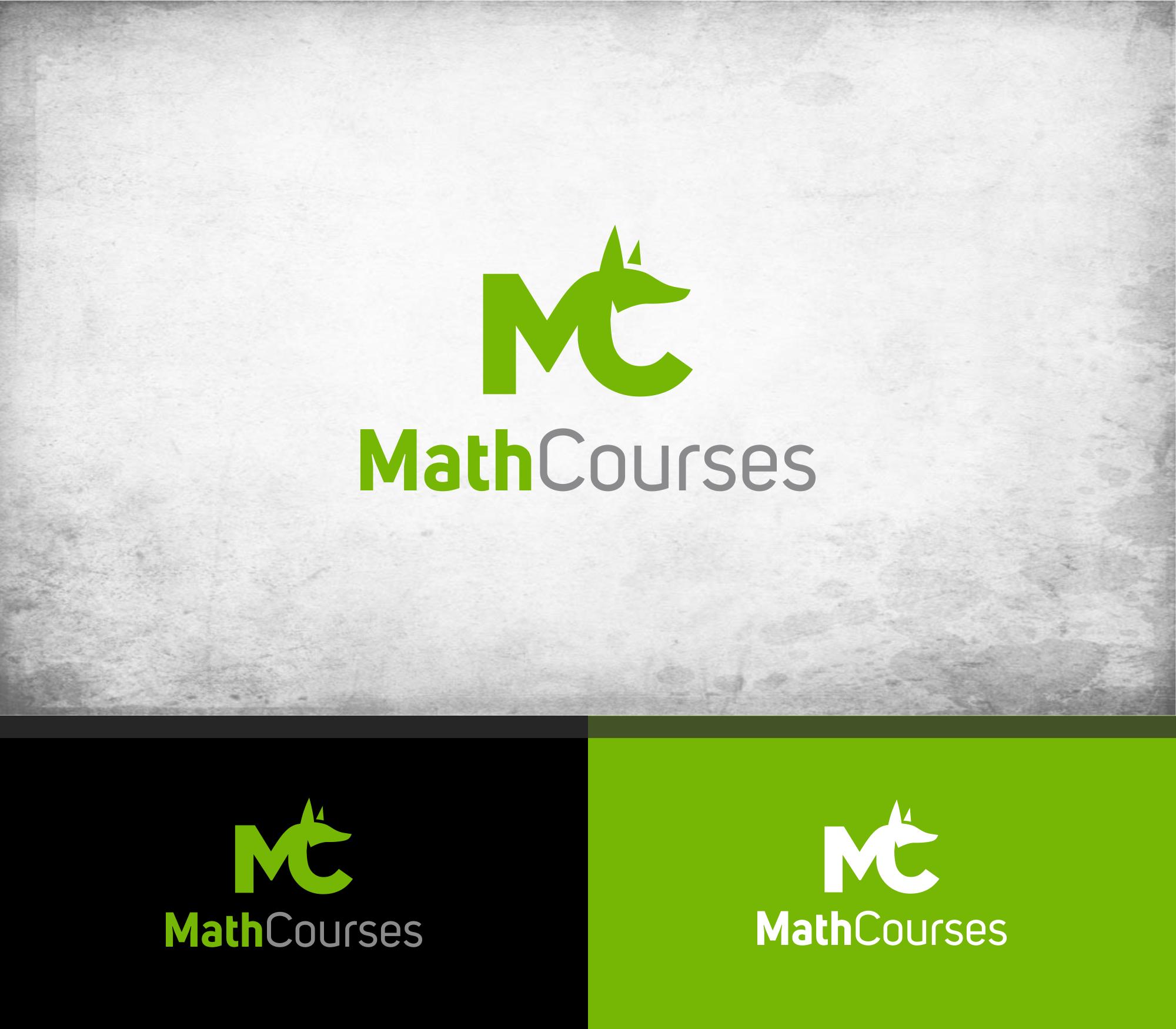 MathCourses - Vorbereitungskurse für Prüfungen und Weiterbildungen mit mathematischem Inhalt sucht Logo