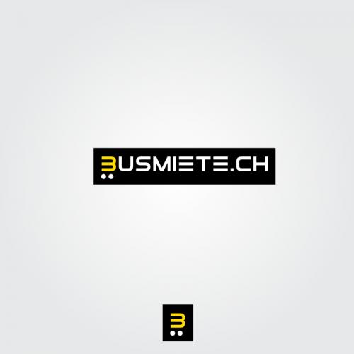 Logo-Design für Busvermietungen