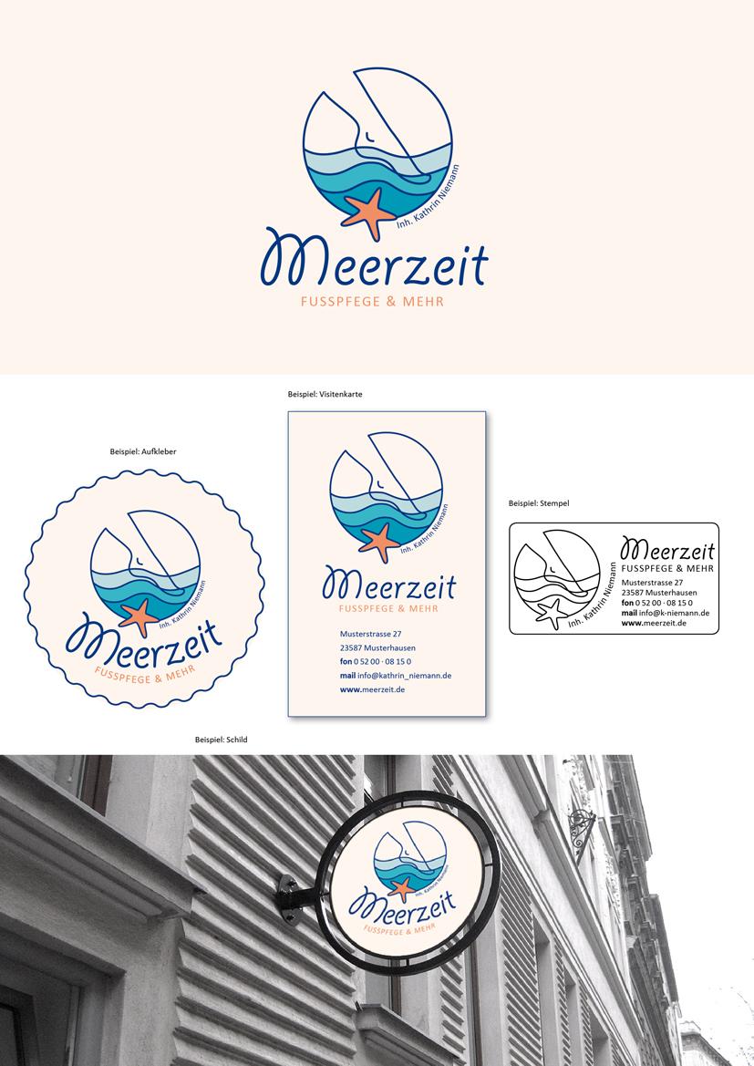 Logo Design Für Fußpflege Und Kosmetik Logo Design