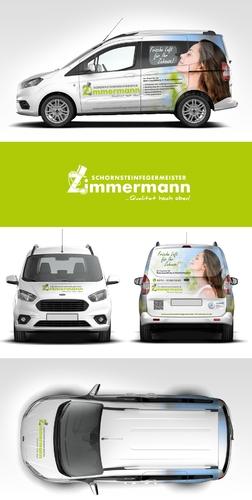 Schornsteinfegerbetrieb  sucht Fahrzeugbeschriftung
