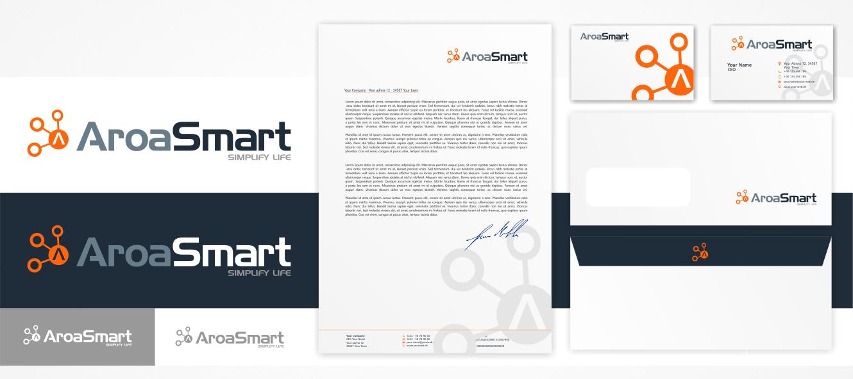 Logo Visitenkarte Für Smart Living Interne Logo