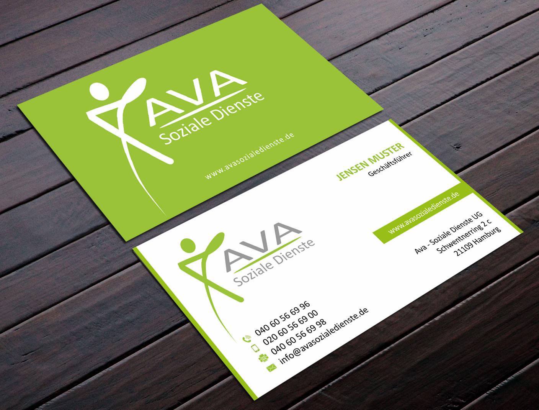 Visitenkarten Design Für Träger Der Familienhilfe