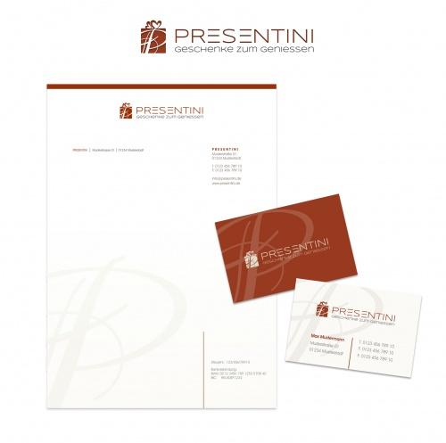 Logo-Design für Anbieter von Geschenkideen