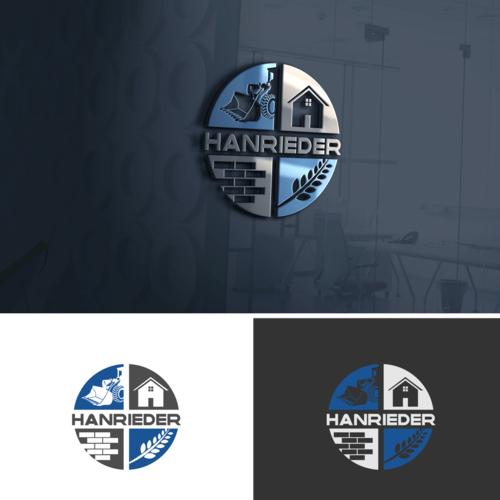 Logo-Design für traditionsbewusstes Familienunternehmen im Bereich Agrar, Bauträger, Immobilien, Erdbau