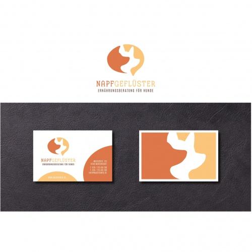 Logo & Visitenkarte für Ernährungsberatung für Hunde