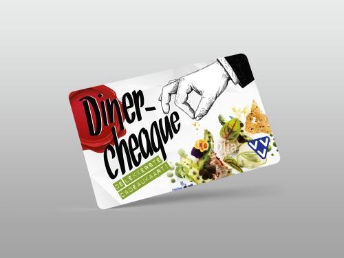 Dinercheque Geschenk/ Gutscheinkarte