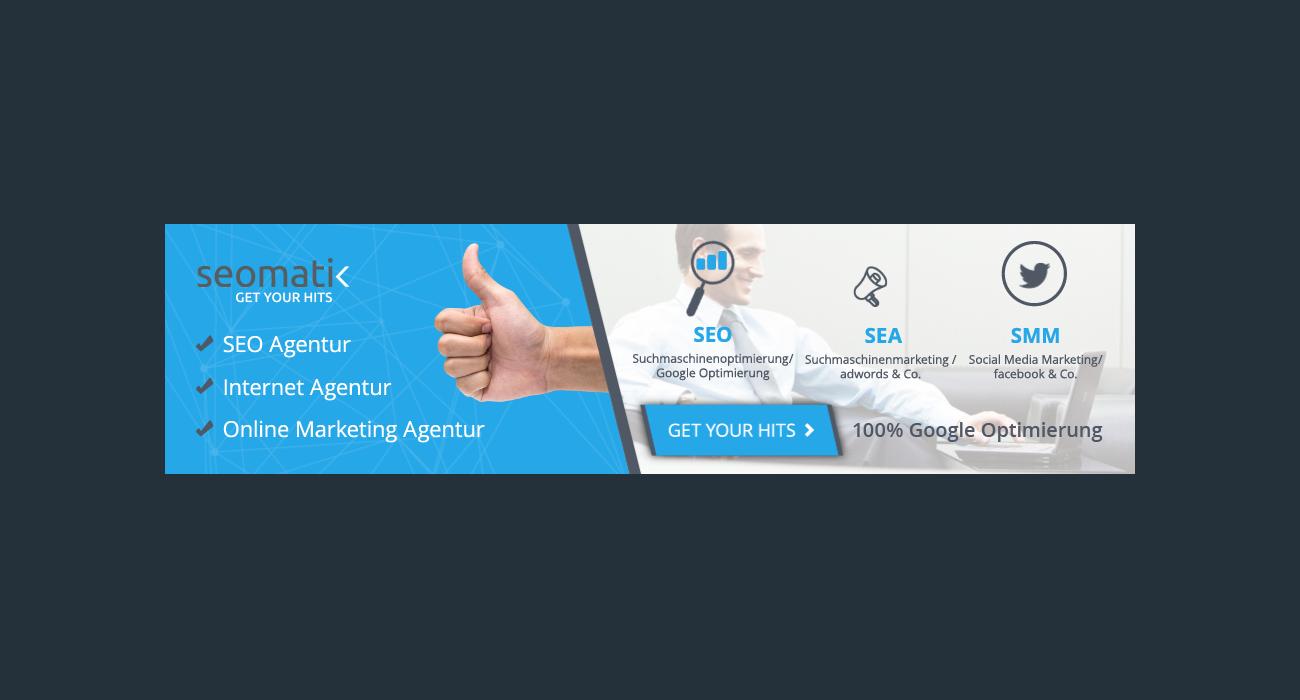 Webbanner Design Für Online Marketing Agentur Webbanner